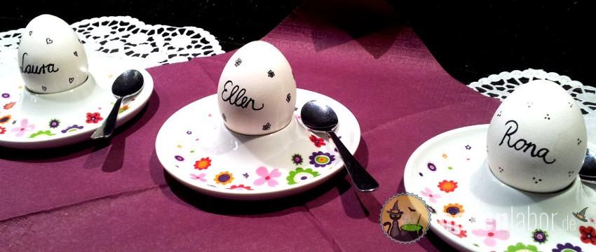 Kucheneier In Echter Eierschale Hexenlabor